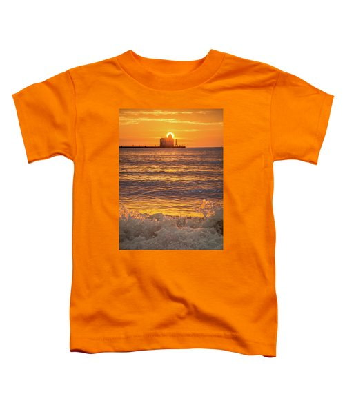 Toddler T-Shirt featuring the photograph Splash Of Light by Bill Pevlor