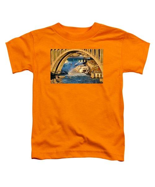 Spokane Monroe Street Bridge Toddler T-Shirt