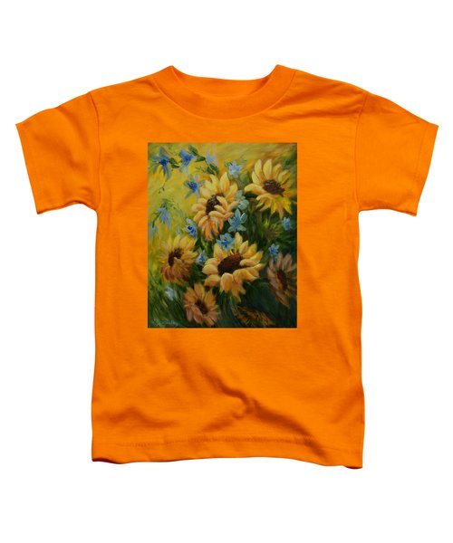 Sunflowers Galore Toddler T-Shirt