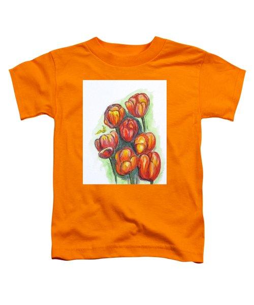 Spring Tulips Toddler T-Shirt