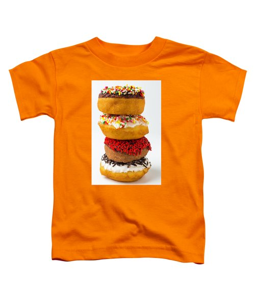 Stacked Donuts Toddler T-Shirt