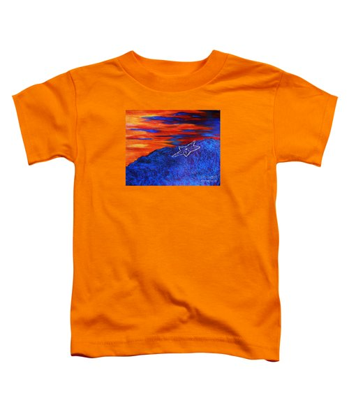 Star On The Mountain Toddler T-Shirt