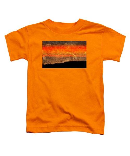 Starry Sunset Toddler T-Shirt