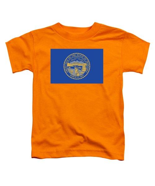 State Flag Of Nebraska Toddler T-Shirt