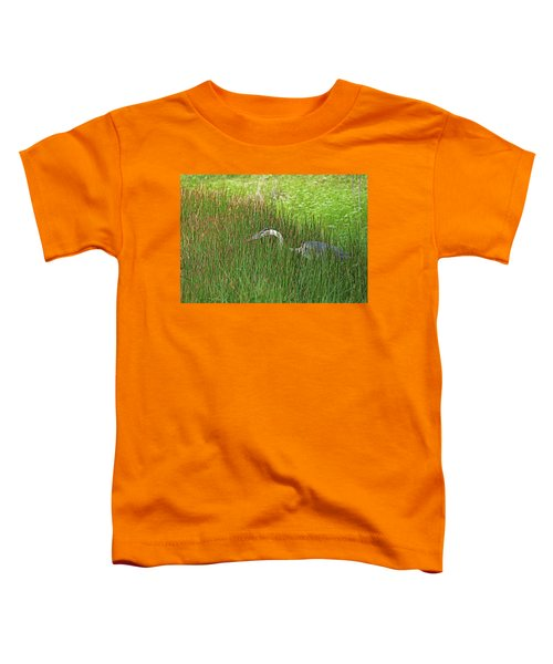 Stealth Heron Toddler T-Shirt