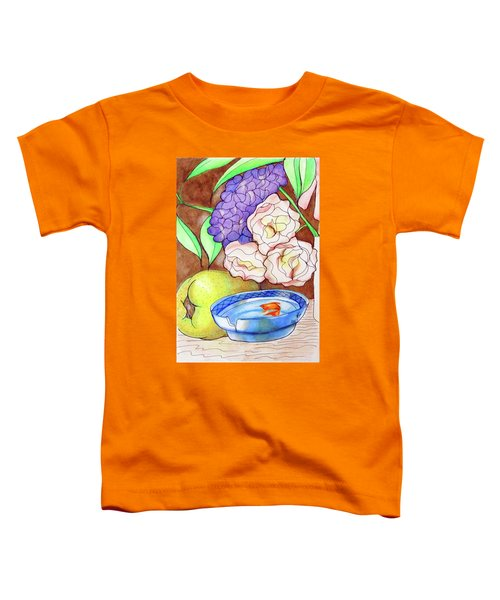 Still Life With Fish Toddler T-Shirt