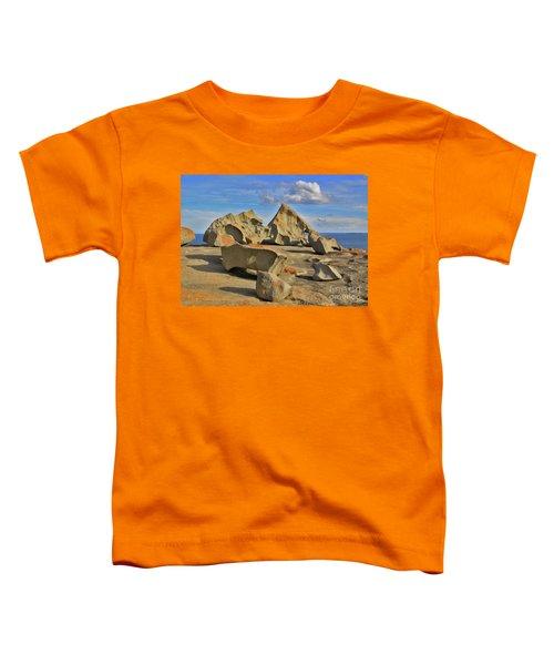 Stone Sculpture Toddler T-Shirt