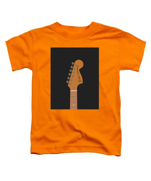 Stratocaster Guitar Toddler T-Shirt