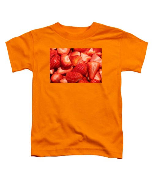Strawberries 32 Toddler T-Shirt