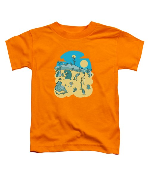Summer Game On Vacation  Toddler T-Shirt