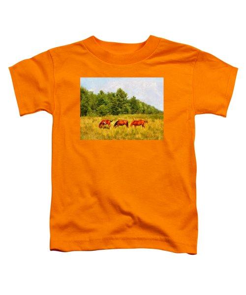Summer Hay Burners Toddler T-Shirt