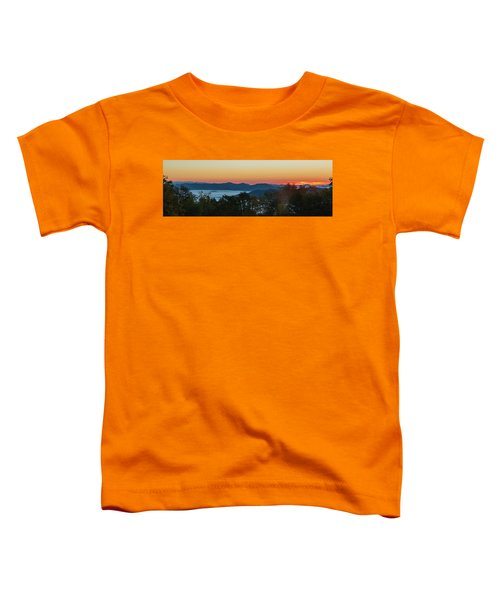 Summer Sunrise - Almost Dawn Toddler T-Shirt