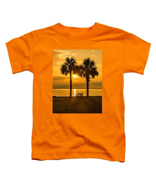 Summer Sunrise - Charleston Sc Toddler T-Shirt