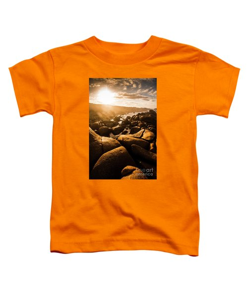 Sun Bleached Australia Beach Toddler T-Shirt