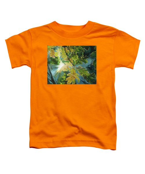 Sun Through Oak Leaves Toddler T-Shirt