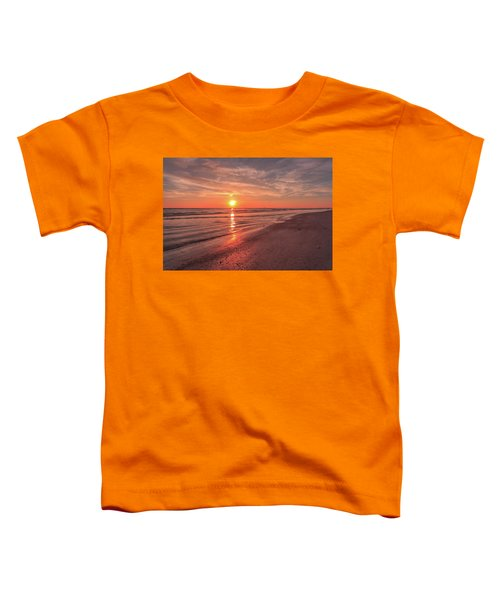 Sunburst At Sunset Toddler T-Shirt