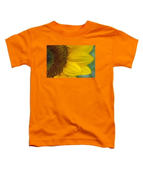 Sunflower Closeup Toddler T-Shirt