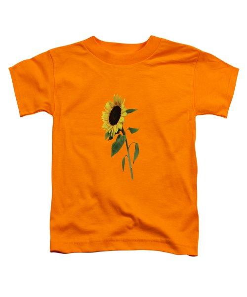 Sunflower Glow Toddler T-Shirt