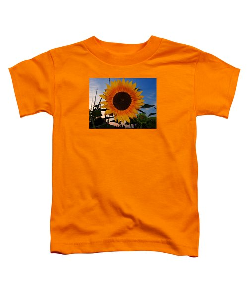 Sunflower In The Evening Toddler T-Shirt