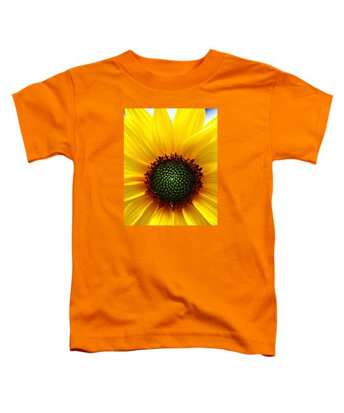 Sunflower Macro Toddler T-Shirt