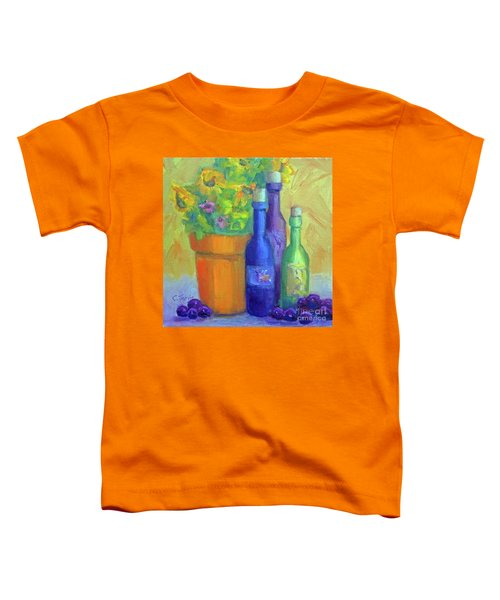 Sunflowers And Wine Toddler T-Shirt