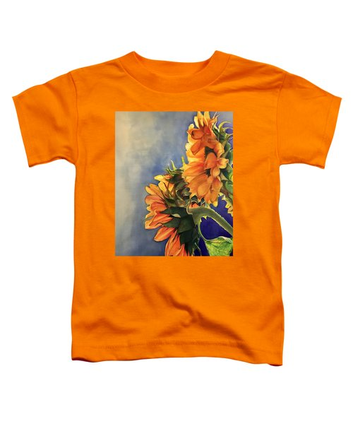 Sunflowers Toddler T-Shirt