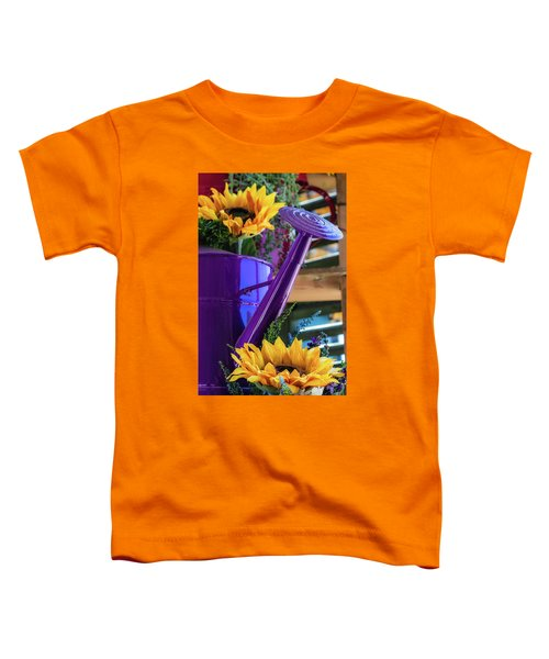 Complementary Sunflowers Toddler T-Shirt
