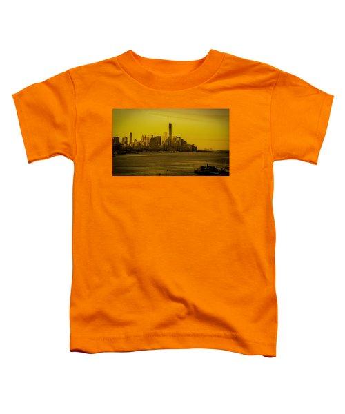 Sunrise Across The Hudson Toddler T-Shirt
