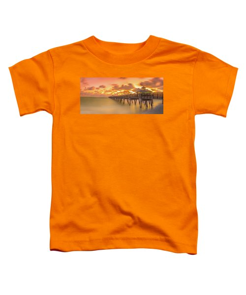 Sunrise At Juno Beach Toddler T-Shirt