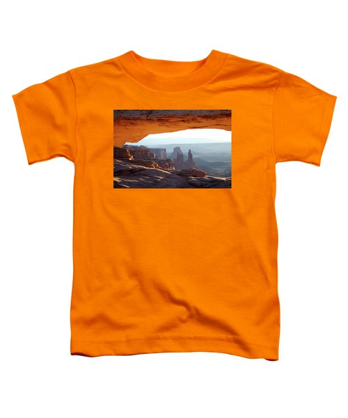 Sunrise At Mesa Arch Toddler T-Shirt
