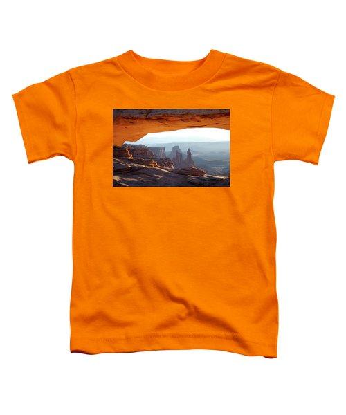 Sunrise At Mesa Arch Toddler T-Shirt