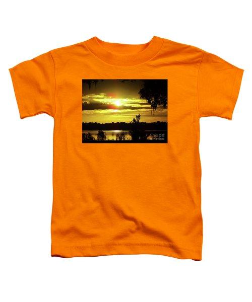 Sunrise At The Lake Toddler T-Shirt