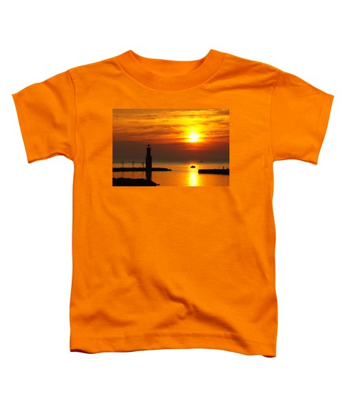 Sunrise Brushstrokes Toddler T-Shirt by Bill Pevlor