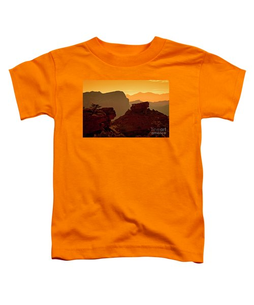 Capital Reef Sunrise Toddler T-Shirt