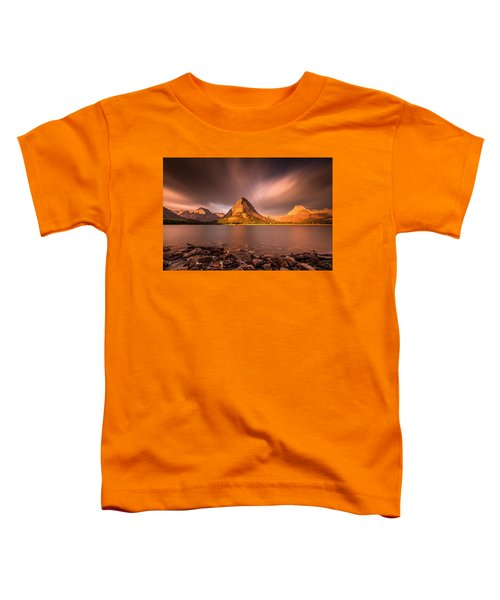 Sunrise In Glacier National Park Toddler T-Shirt