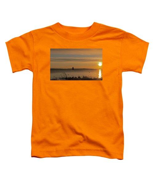 Sunrise Over New Bedford Toddler T-Shirt