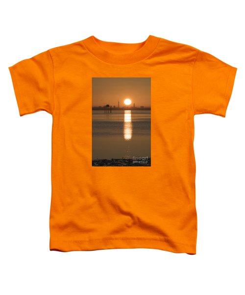 Sunrise Over Portsmouth Toddler T-Shirt