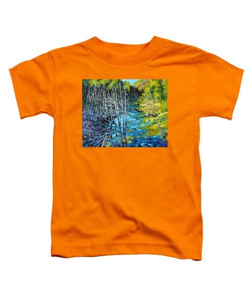 Sunrise Swamp Toddler T-Shirt
