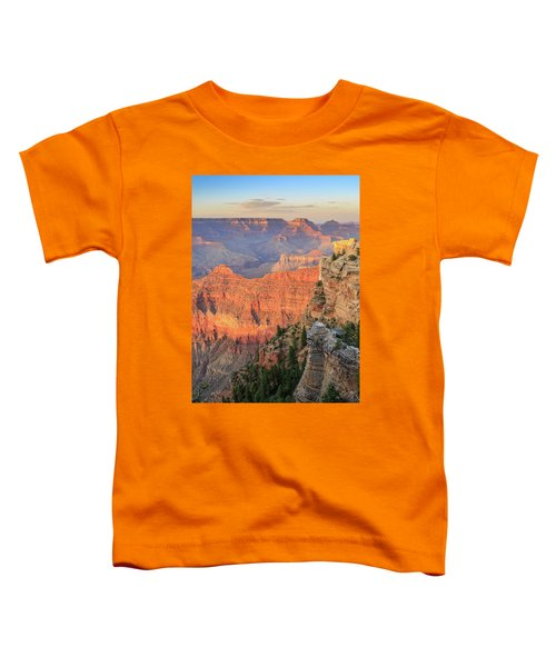 Toddler T-Shirt featuring the photograph Sunset At Mather Point by David Chandler