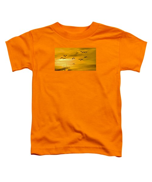 Sunset Fliers Toddler T-Shirt