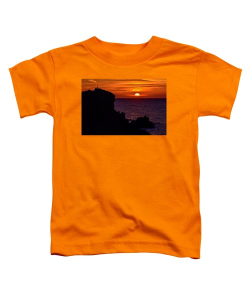 Sunset From Costa Paradiso Toddler T-Shirt