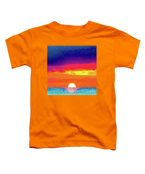 Sunset In Abstract 500 Toddler T-Shirt