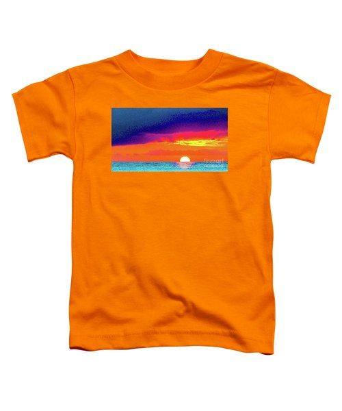 Sunset In Abstract  Toddler T-Shirt