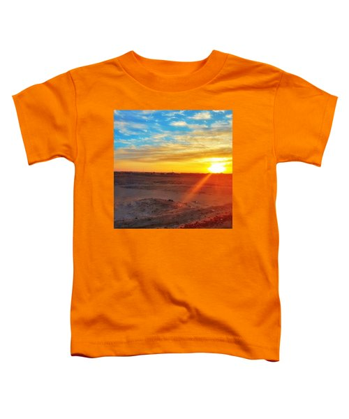 Sunset In Egypt Toddler T-Shirt