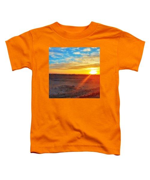 Sunset In Egypt Toddler T-Shirt