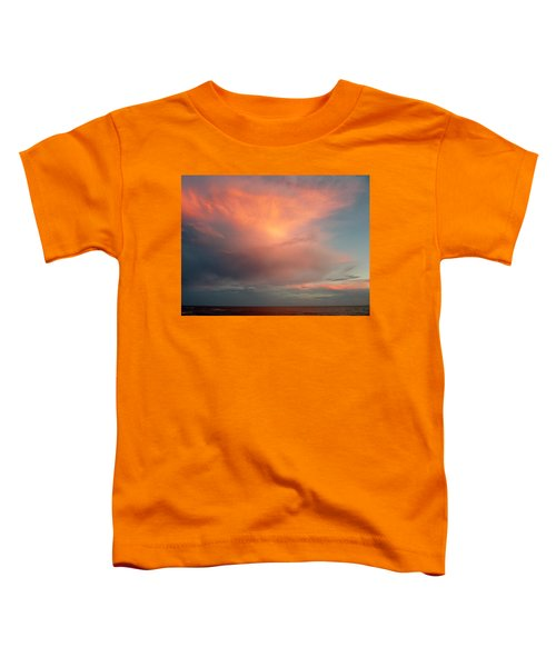 Sunset Moonrise Toddler T-Shirt