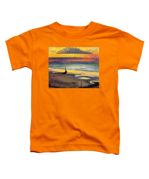 Sunset On The Beach 1891 Toddler T-Shirt