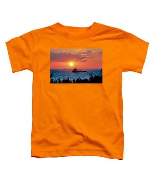 Sunset On The Horizon Toddler T-Shirt
