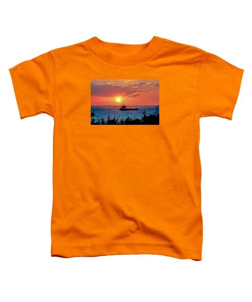 Sunset On The Horizon Toddler T-Shirt