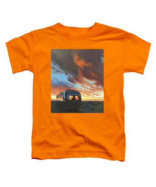 Sunset On The Mesa Toddler T-Shirt